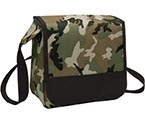 Camoflauge imprintable lunch bag